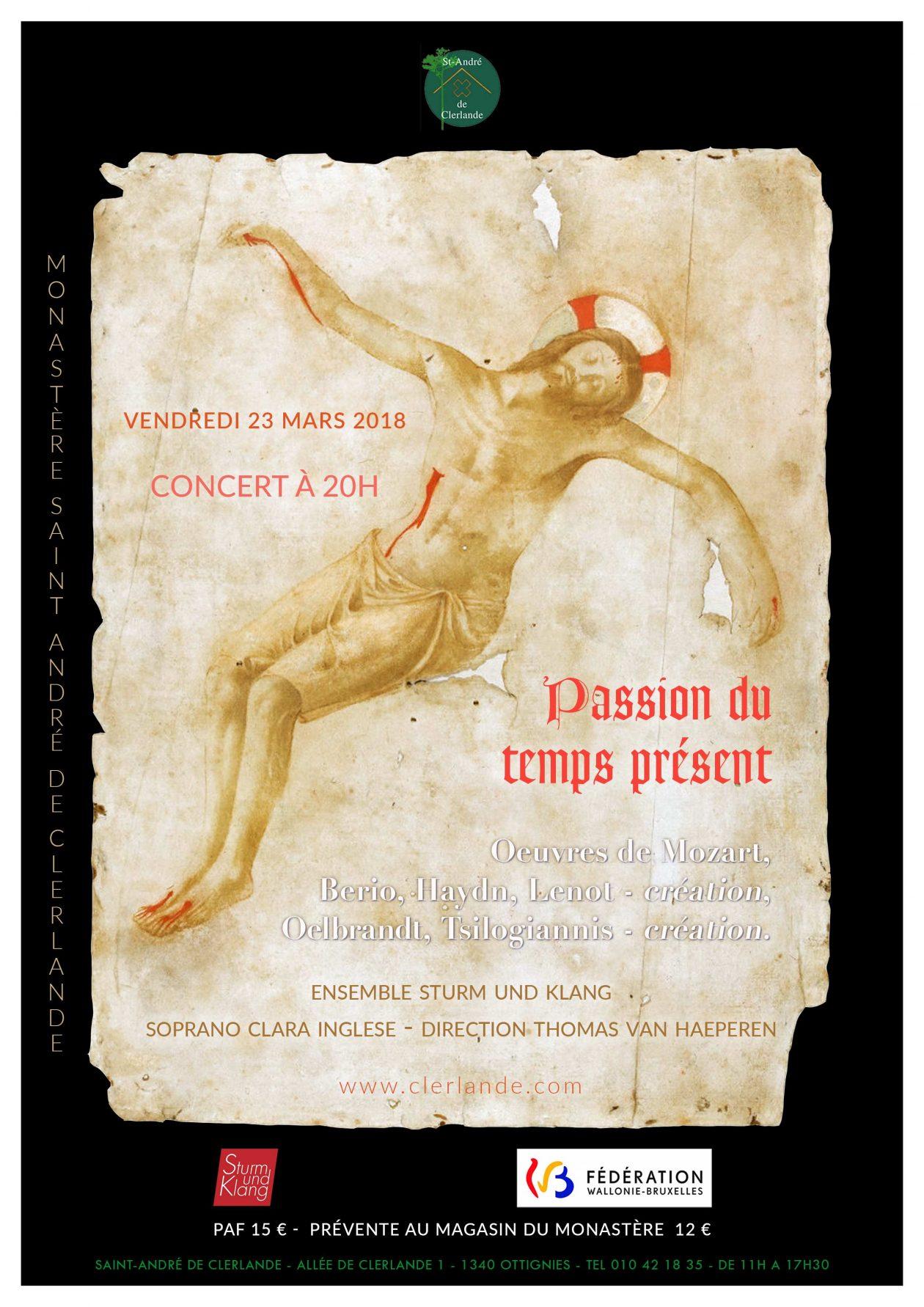 Affiche Clerlande 23.03.18