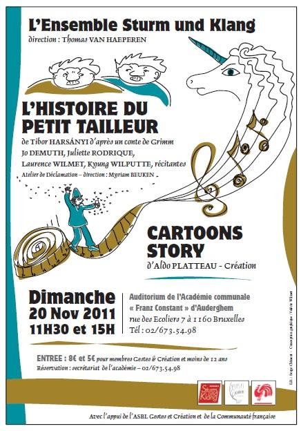 20/11/2011 L'histoire du petit tailleur