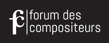 Logo forum hor fond noir