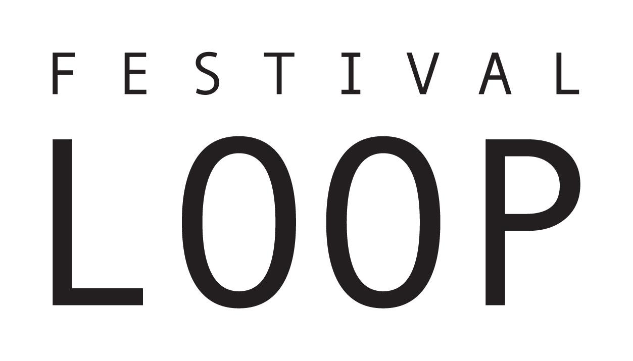 Logo loop noir