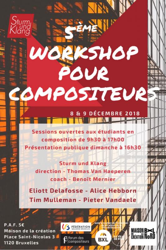 Workshop 2018 flyer