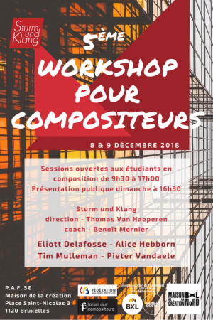 Workshop 2018 flyer